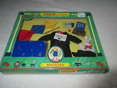 """Madeline & Friends MAGICIAN OUTFIT & TRICKS SET for 8"""" Doll Eden 2000"""