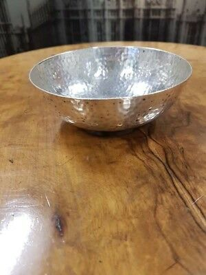 Sterling Silver 1910 Chester Bowl