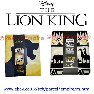 Official Disney LION KING *All Sizes* DUVET COVER SET, THROW, CUSHION Cat Simba