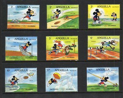"Anguilla ""1984 Olympics"" (with rings) - Disney Topical - MNH"