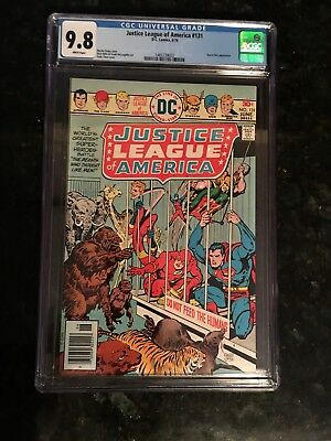 Justice League Of America #131 CGC 9.8 White Pages!