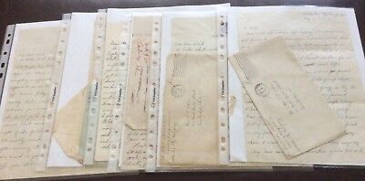 6 WW2 letters 717 Training Grp/398 sig. Corps, news, Transcription