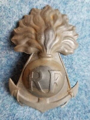 WW1 French Colonial helmet badge intact original paint Senegalese untouched!!