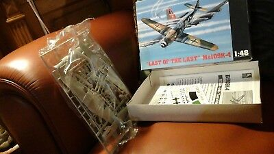 """HOBBY CRAFT """"LAST of the LAST""""  Me109K-4 -1/48 - NUOVO/NEW"""