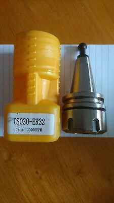 Iso30 Milling Collet Chuck For Er32 Collets