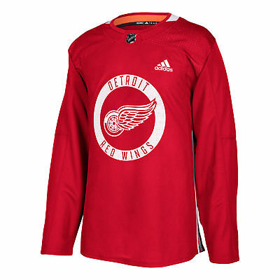 NHL Detroit Red Wings adidas Climalite Authentique Pro Practise Maillot Hommes