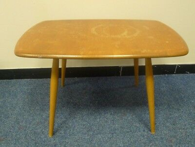 ERCOL wooden side coffee table vintage retro - collection only *