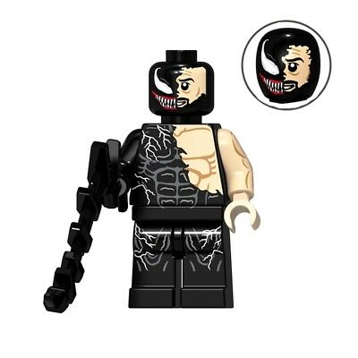 █ Buy 2 Get 1 Free █ Spider-Man Poison Custom Mini Figure Minifigs PG8187 1638