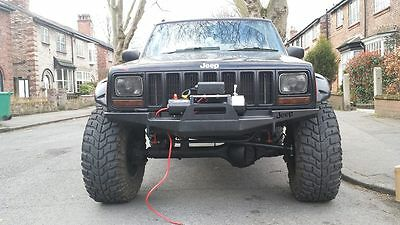 JEEP CHEROKEE XJ 89-01 Front Steel Bumper Winch Off -Road