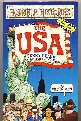 Horrible Histories Special The USA von Terry Deary