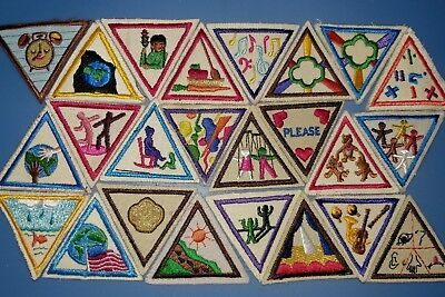 Girl Scout Try It Patch Badge Lot 24