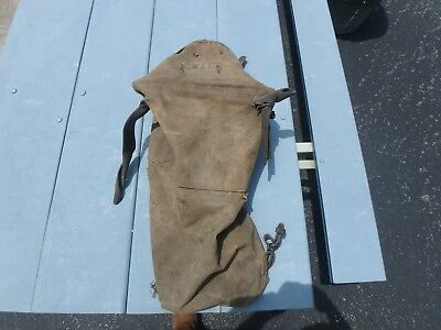 World War One Horse Feed Bag Plus Leather Harness