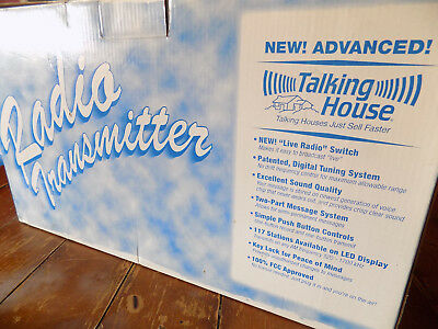 Talking House TH5.0  AM Radio Transmitter in Box **NEW**
