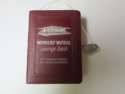 Bankers Utility Co. Book Bank With Key Workers' Mutual Savings Bank Superior Wi