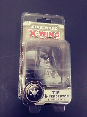 Star Wars X-Wing Miniature Game TIE Interceptor Expansion Pack