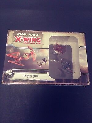 Star Wars X-Wing Miniature Game Imperial Aces Expansion Pack