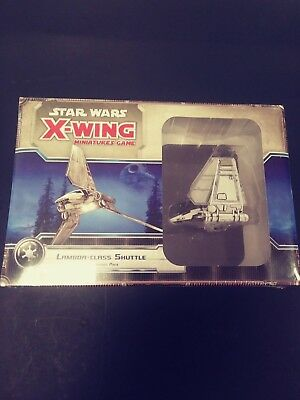 Star Wars X-Wing Miniature Game Lambda Class Shuttle Expansion Pack