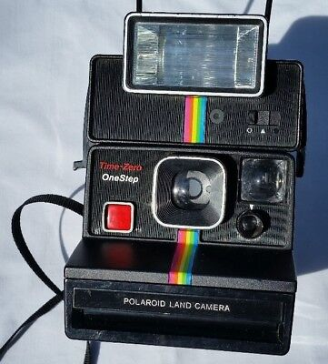 Polaroid Onestep Time-Zero SX-70 Land Camera with Flash Add-on Tested