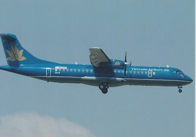 Vietnam Airlines - Atr-72-500 - F-Wqnf - Toulouse - 06/2006 - Postcard