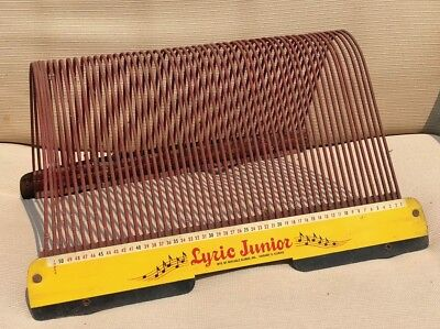 Vintage Lyric Junior 45 Rpm Record Holder Wire Rack