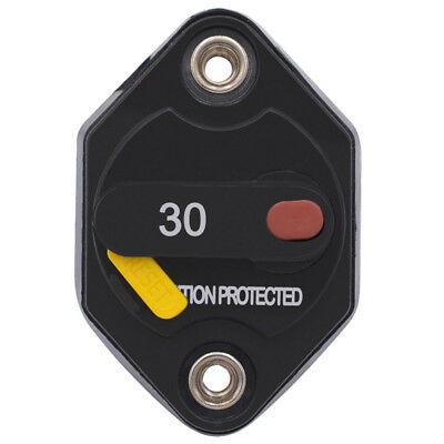 Car 32V 20-40 AMP Ignition Protected Manual Reset Button Circuit Breaker