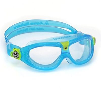 Aqua Sphere Seal Kid 2 Children Swimming Goggles - Clear/Aqua