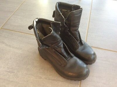 British Army Gore-tex combat Boots Sz UK 10 L