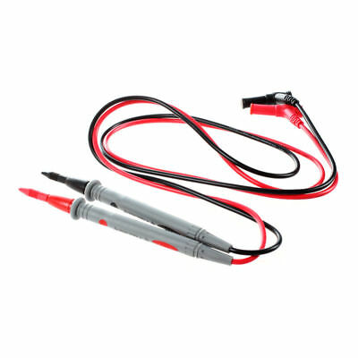 1 Pair Digital Multimeter 1000V 20A Universal Test Lead Cable Probe Red+Blac SHJ