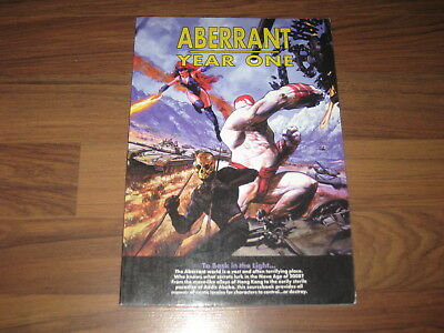 Aberrant Year One Sourcebook Softcover White Wolf 1999 VG