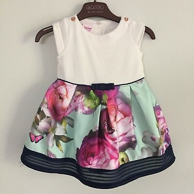 Ted Baker Beautiful Baby Girl Dress Age 9-12 Months