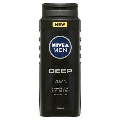 Nivea Men Deep Shower Gel 500ml