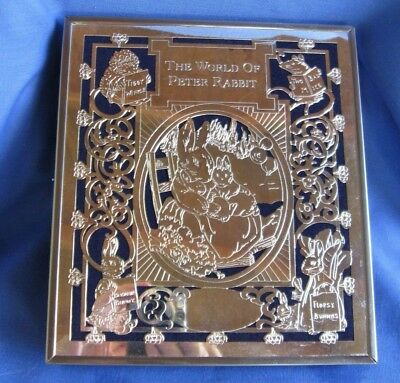 Vintage Godinger Silver World of Peter Rabbit Photo Album