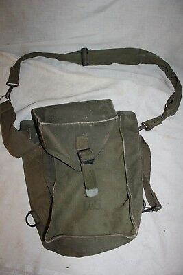 US Military Issue WWII WW2  1944 Pouch Bag Vintage Field Ammunition Bag  Army