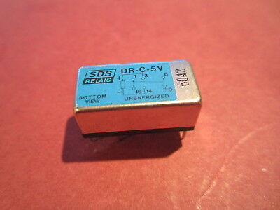 Rare High Speed Dil Reed Relay Aromat Sds Relais Dr-C-5V  Rockman Stompbox