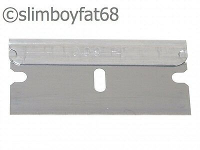 Single Edge Razor Blades Window Scraper Blades American Line Quality Blade