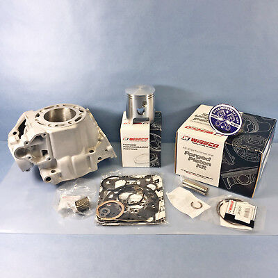 Re-plated OEM 1998-1999 Kawasaki KX250 Cylinder Wiseco Top End Kit 98 99 66.40mm