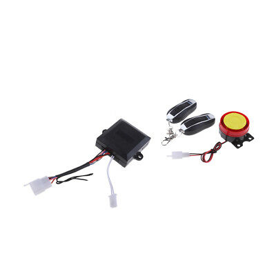 Motorcycle Protection Anti Theft Security Alarm System Remote Control