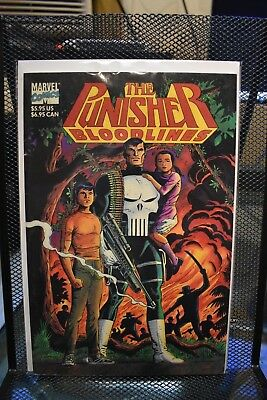 Bloodlines US GN Gerry Conway /& Dave Cockrum The Punisher
