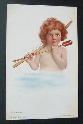 Postcard - Cupid Smiling, Reinthal & Newman Publishers