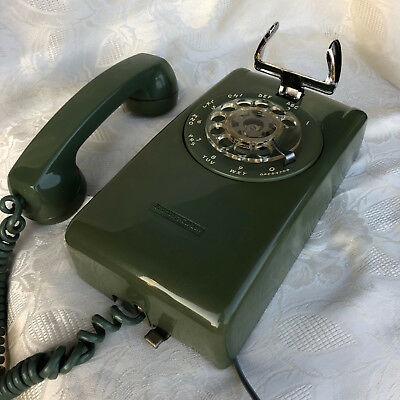 * 1971 Stromberg Carlson Rotary Wall Phone * Working * Excellent Condition *