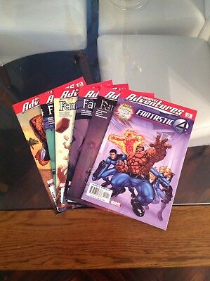 Fantastic Four Marvel Adventures Various Comic Collection Bargain Bundle