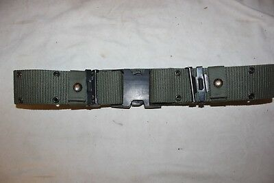 US Military Issue LC2 Individual Equipment  Pistol Belt Nylon Green Alice Large