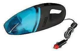 BoyzToyz RY580 Car Van Interior Vac Vacuum Cleaner 12v + Nozzle Attachement Blue