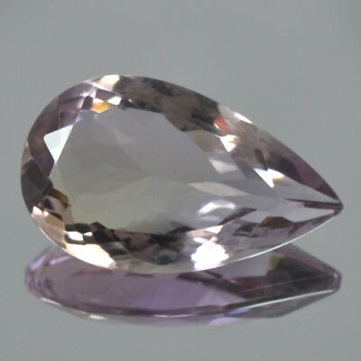 Natural Ametrine Bi Color Loose Gemstone Pear Cut Brazil 11.50 Cts Ring Pendant