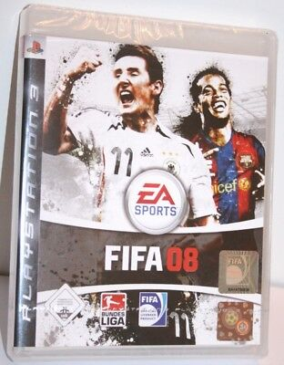 Game Sony PS3 Playstation 3 FIFA 08 / 2008, NEU/NEW OVP in Folie/original sealed