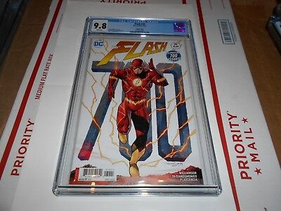 Flash #39 Cgc 9.8 (Daniels 700Th Issue Variant Cover) (Combined Shipping Ok)