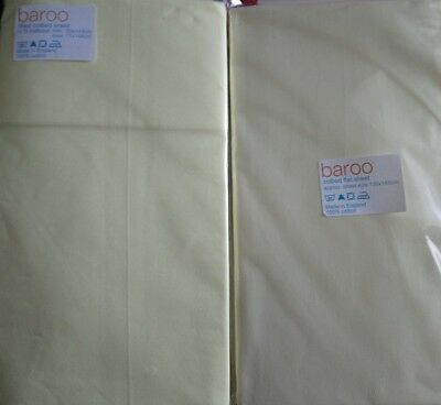 Cotton Fitted Cot Bed sheets .