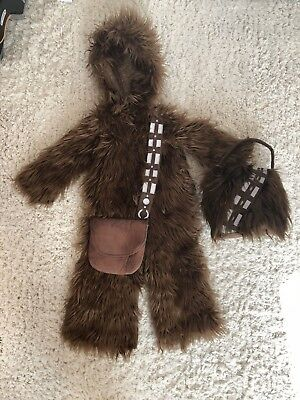Toddler Chewbacca Costume Includes Bag!- Pottery Barn 3T