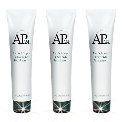 3X AP-24 ANTI-PLAQUE FLUORID-ZAHNPASTA!!! Top Angebot!!!