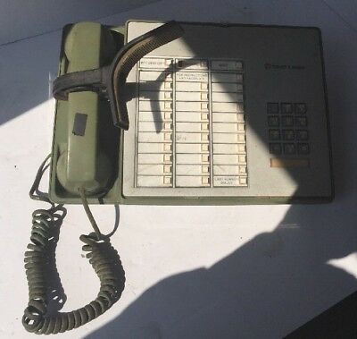Western Electric Touch A Matic Olive Green Telephone Console Model 2870B1